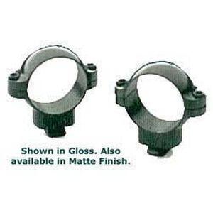 Leupold 30mm Dual Dovetail Rings Low Black Matte 52242