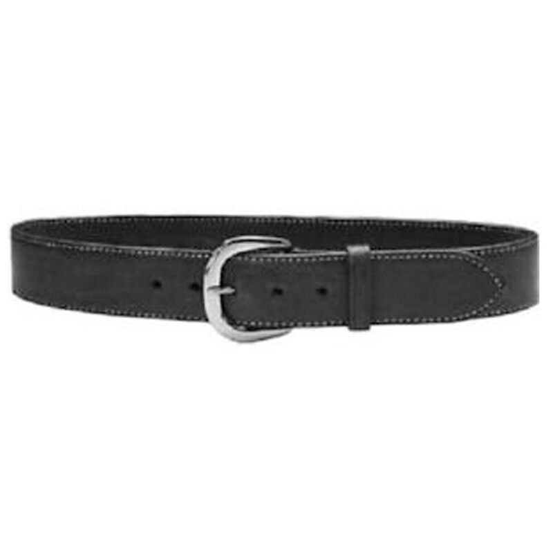 """Galco Gunleather SB2 Sport Belt 1.5"""" Wide Nickel Plated Brass Buckle Leather Size 38 Black"""
