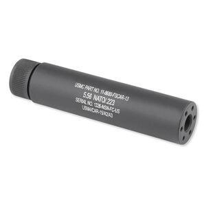GunTec AR-15 Slip-Over Fake Suppressor 1/2x28 TPI Aluminum Black 1326