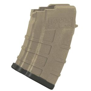 TAPCO Intrafuse AK-47 Magazine 7.62x39mm 10 Rounds Polymer Dark Earth 16642