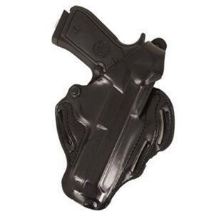 DeSantis Thumb Break Scabbard Belt Holster Beretta 92-A1 Right Hand Leather Black 001BAV6Z0