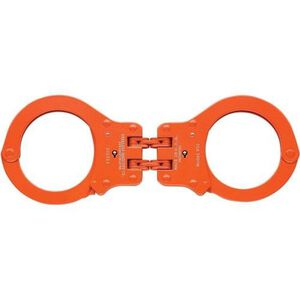 Peerless Handcuff Company Hinged Handcuffs Orange