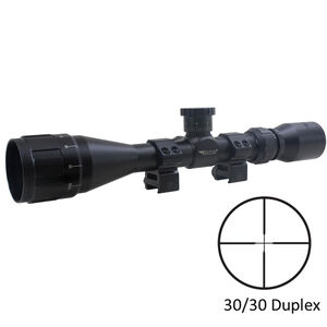 "BSA Optics SWEET .17 AO 3-12x40 Riflescope 30/30 Reticle 1"" Tube .25 MOA Adjustments Variable Parallax Second Focal Plane Matte Black"