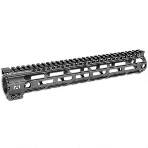 "Midwest Industries .308 15"" Handguard DPMS Low Height M-LOK Aluminum Black MI-308SS15-DLM"