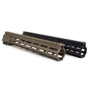 "Geissele Automatics 9.3"" Super Modular Rail MK16 M-LOK Black  05-651B"