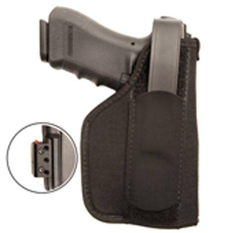 "BLACKHAWK! Belt Holster #01 for Medium Semi Autos 3-4"" Barrel with Laser Right Hand Black Nylon"