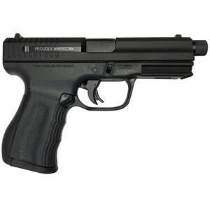 "FMK 9C1 Elite Plus Semi Auto Pistol 9mm Luger 4.5"" Threaded Barrel 14 Rounds Optic Ready Slide Black"