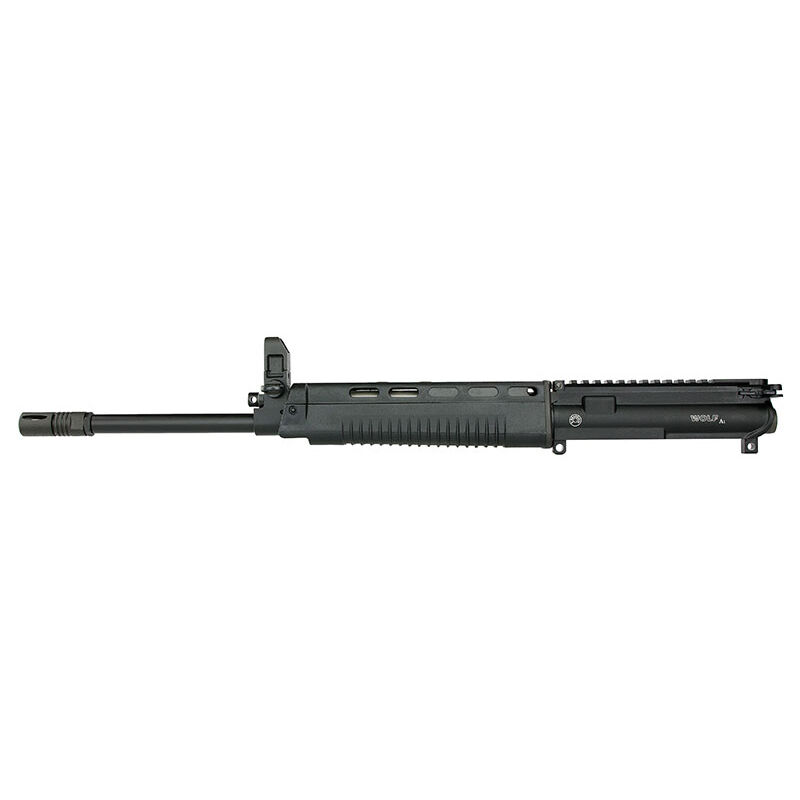 Wolf A1 Complete AR-15 Upper 5.56 NATO Gas Piston, Hammer Forged Barrel