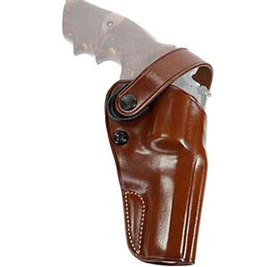 """Galco D.A.O. Belt Holster fits Ruger Redhawk/Super Redhawk 7-1/2"""" Barrel Right Hand Leather Tan"""