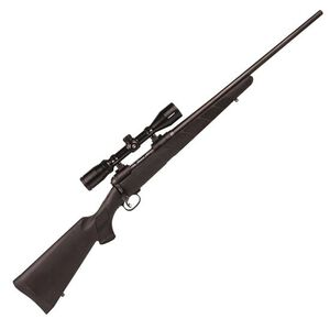 """Savage 11 Trophy Hunter XP .338 Fed Bolt Action Rifle 4 Rounds 22"""" Barrel with 3-9x40 Scope Synthetic Stock Matte Black"""