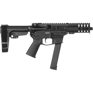 "CMMG Banshee 300 MkGs 9mm Luger AR-15 Semi Auto Pistol 5"" Barrel 33 Rounds Uses GLOCK Style Magazines RML4 M-LOK Handguard CMMG Micro/CQB RipBrace Graphite Black Finish"