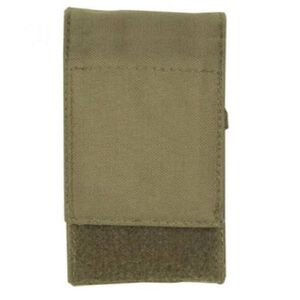 Voodoo Tactical .308 Precision Rifle Single 10 Round Magazine Pouch Hook/Loop Flap MOLLE Webbing Compatible Nylon Coyote Tan