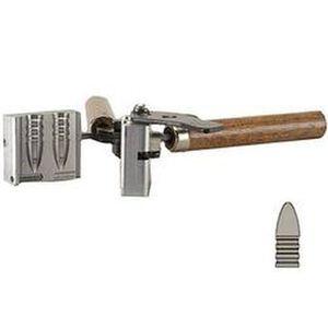 "Lee Precision .312"" Diameter 155 Grain Round Nose Bullet Double Cavity Mold Aluminum With Handles 90385"