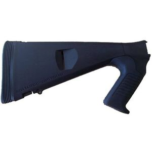Mesa Tactical Urbino Pistol Grip Stock Remington 870/1100/11-87 Model 12 Gauge Shotguns Riser/Limbsaver Injection Molded Glass Filled Nylon Matte Black 91550