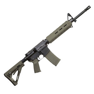 "Del-Ton Sierra 316 AR-15 Semi Auto Rifle 5.56 NATO 16"" Barrel 30 Rounds M-LOK Handguard Collapsible Stock OD Green/Black RFTMH16MLOKOD"