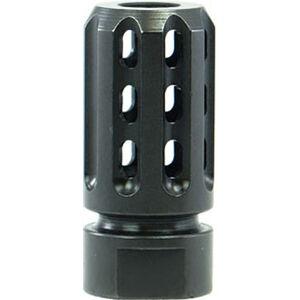 Manticore AR-10/AR.308 Nightbreak Compensator .308/7.62 Caliber 5/8x24 TPI Steel Black
