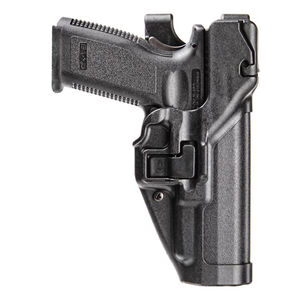 BLACKHAWK! SERPA HK USP 9/40 Full Size Level 3 Auto Lock Holster Right Hand Jacket Slot Duty Belt Loop Matte Black
