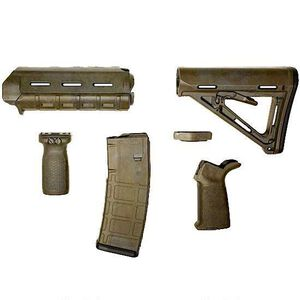 Matrix Diversified Industry AR-15 Magpul Furniture Kit Commercial Polymer Bounty Hunter Finish MAGCOM26BH
