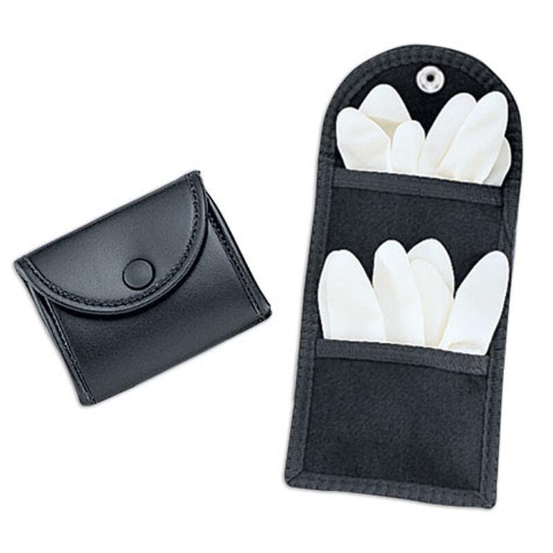 Uncle Mike's Mirage Plain Double Latex Glove Pouch Black 74961