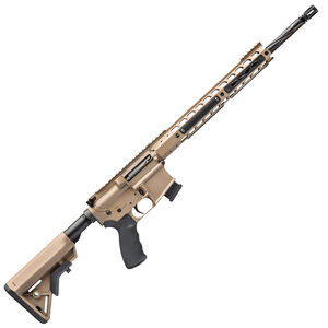 "Alexander Arms Tactical 17 HMR AR-15 Rifle 18"" Barrel 10 Rounds Velocity Trigger Upgrade FDE Finish RTA17DEVESP"