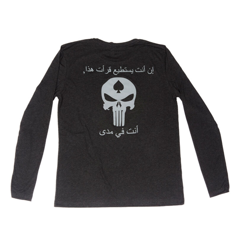 98383e0c8746 Spike's Tactical Shooting Punisher Men's Long Sleeve T-Shirt Large Black |  Cheaper Than Dirt