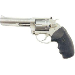 "Charter Arms Pathfinder Revolver Handgun .22 Long Rifle 4.2 "" Barrel 6 Rounds Rubber Grips Stainless Steel Frame 72242"