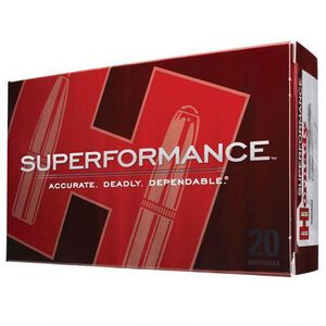Hornady Superformance 6mm Remington Ammunition 20 Rounds SST 95 Grains