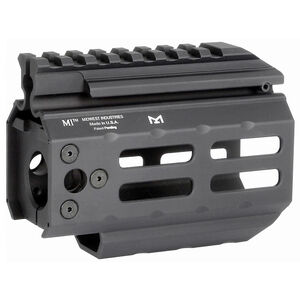 "Midwest Industries CZ Scorpion 4.25"" One Piece Hand Guard Picatinny Top Rail/M-LOK Slots 6061 Aluminum Hard Coat Anodized Matte Black Finish"