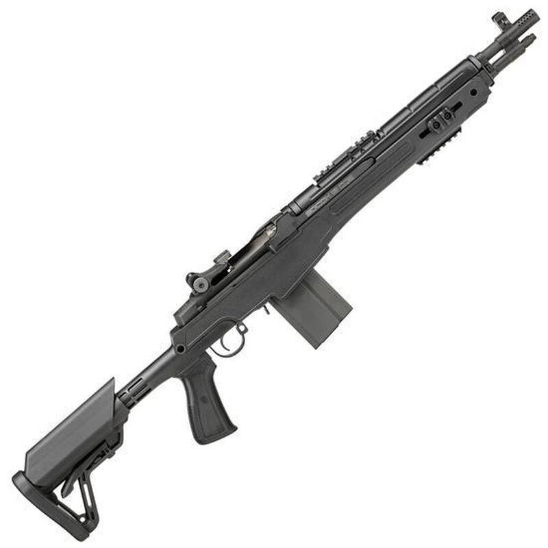 "Springfield Armory M1A SOCOM 16 CQB Semi Auto Rifle .308 Win/7.62mm NATO 16.25"" Barrel 10 Rounds Five Position CQB Stock Adjustable Cheek Piece M-LOK Rail Parkerized AA9611"