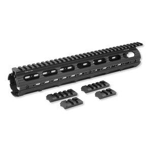 Leapers UTG PRO AR-15 Rifle Length Super Slim Drop In Handguard Aluminum Black MTU003SS