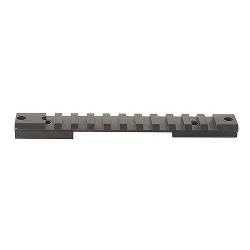 Warne Remington 700 Short Action 1 Piece Tactical Base Matte Black M673M