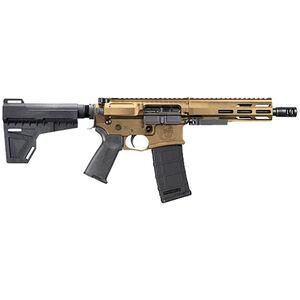 "DRD Tactical CDR-15 .300 AAC Blackout AR-15 Semi-Auto Pistol 8"" Barrel 30 Rounds Optics Ready Blade Pistol Stabilizer Bronze Finish"