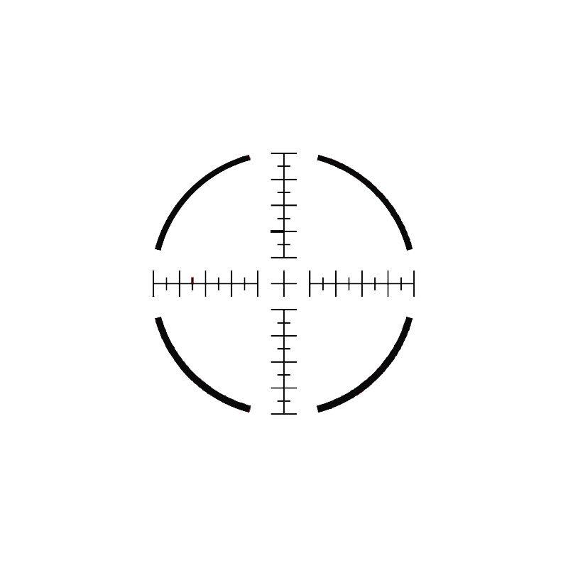 US Optics TS-6X FFP 1-6x24 Tactical Scope with illuminated MS2 Reticle 30mm 0.2 MRAD Adjustment USO TS Series Black