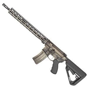 "WMD Guns The Beast AR-15 Semi Auto Rifle 5.56 NATO 16"" Barrel 30 Rounds Free Float M-LOK Modular Hand Guard Collapsible Stock NiB-X Distressed Finish"