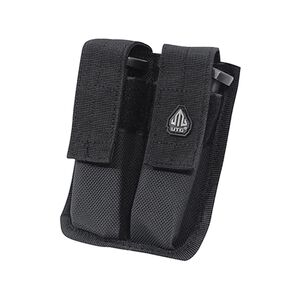 UTG Dual Pistol Mag Pouch, Black