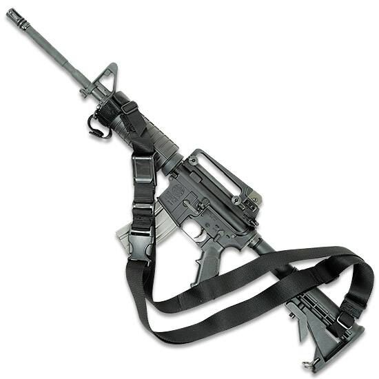 Condor T3PS Adjustable Quick Release Detach QD Tactical 3 Point Rifle Sling