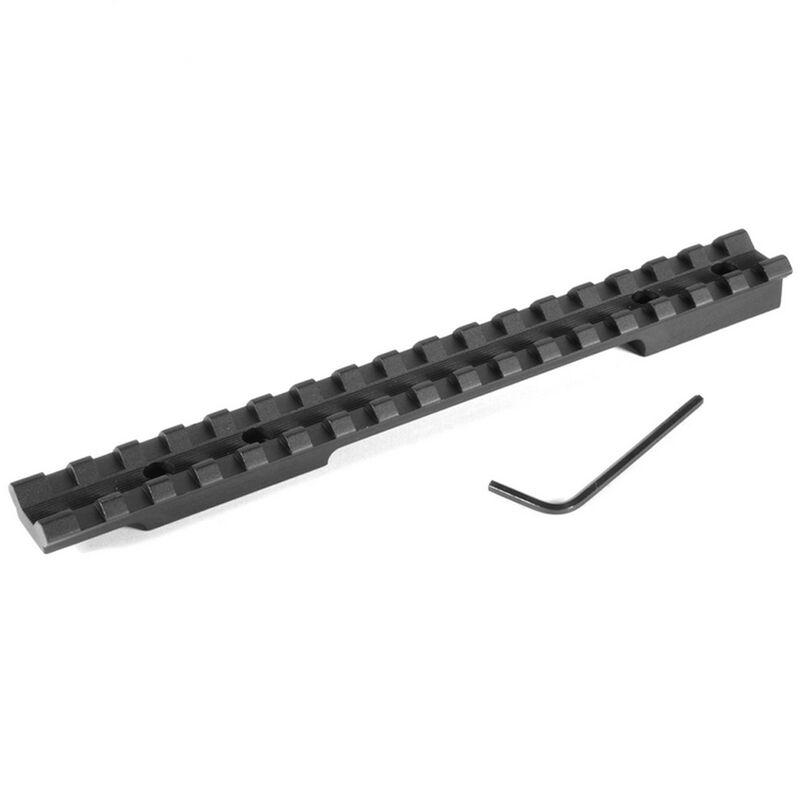 EGW One Piece Picatinny Scope Mount Winchester Model 70 (Pre64) Long Action Aluminum Black 42100