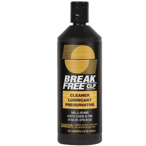 Break Free CLP Cleaner, Lubricant and Preservative 4 Ounce Bottle 26 Pack