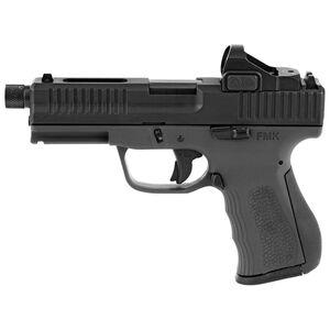 "FMK 9C1 Elite Pro Plus Semi Auto Pistol 9mm Luger 4.5"" Threaded Barrel 14 Rounds Mini Red Dot Sight Included Black Finish"
