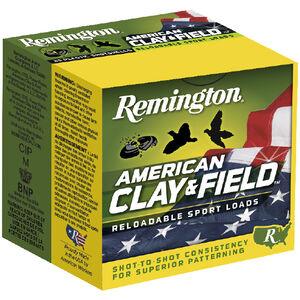 "Remington Clay & Field 12ga 2-3/4"" #8 Lead 1oz 250rds"