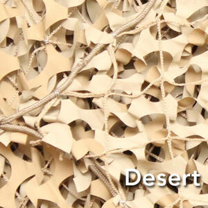 "Camo Unlimited Premium Series Military 9'10""x 33 Yards 3D Leaf Like Foliage Desert"