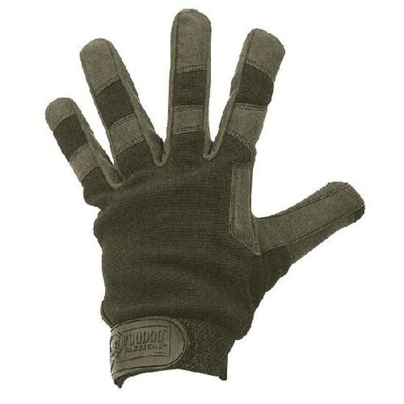 Voodoo Crossfire Gloves Synthetic Leather Large OD Green