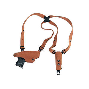 "Galco Classic Lite Shoulder Holster System 1911 Style Firearms with 3"" up to 5"" Barrels Right Hand Draw Leather Natural Finish"
