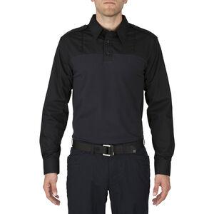 5.11 Tactical Men's Taclite PDU Rapid Long Sleeve Shirt XL Navy