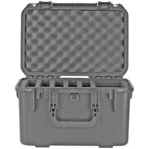 SKB iSeries 1610-10B Five Handgun Case Polymer Black