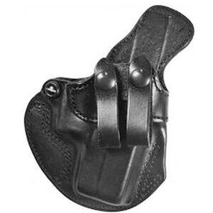 DeSantis Cozy Partner Springfield XD/XD(M)/XD Mod 2.0 IWB Belt Holster Right Hand Leather Black