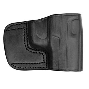 Tagua Belt Slide Holster For GLOCK 19, 23 Right Hand Leather Black BSH-310