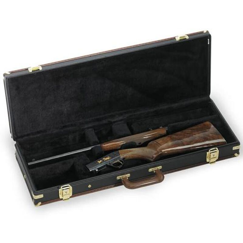 Browning Traditional SA-22 Fitted Hard Case Wood Black and Tan Finish 1428608090