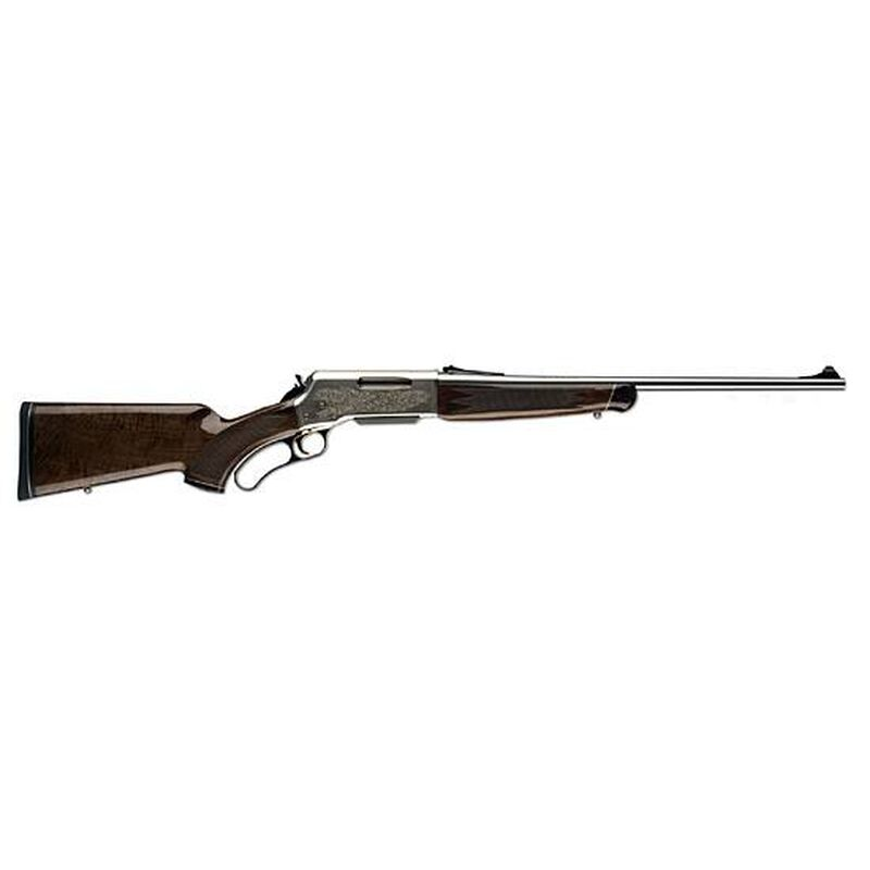 """Browning BLR White Gold Medallion Lever-Action Rifle .243 Winchester 20"""" Barrel 4 Rounds Grade IV/V Gloss-Finished Walnut Stock Stainless Steel Barrel"""