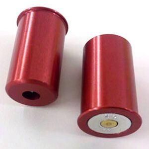 Carlson's Snap Caps 12  Gauge Shotgun Shell Aluminum Red 2 Pack 00100